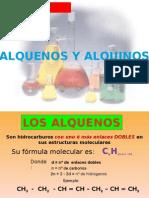 ALQUENOS Y ALQUINOS