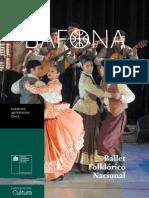 Bafona. Ballet Folklórico Nacional. (2014)