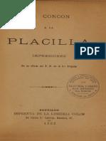 De Concón a La Placilla. Impresiones de Un Oficial Del E.M. de La 3ª Brigada. (1892)
