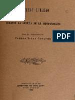El Clero Chileno Durante La Guerra de La Independencia. (1911)