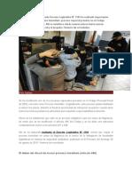 El Recientemente Publicado Decreto Legislativo N