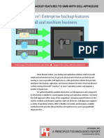 Bringing enterprise backup features to SMB with Dell AppAssure