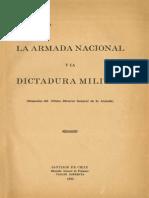La Armada Nacional y La Dictadura Militar (Memorias Del Último Director General de La Armada). (1932)