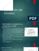 Ejecucion de Tuneles