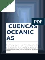 CUENCAS OCEANICAS
