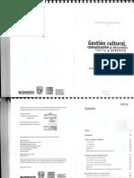 Gestión Cultural, Comunicación y Desarrollo. Teoria y Práctica. Margarita Mass