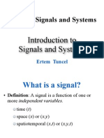 Signals and Systems 1