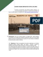 Manual de Usuario Pagina Impuestos Yopal en Linea
