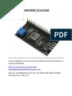 Adaptador i2c Lcd 16x2 Black
