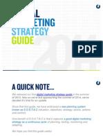 Digital Marketing Strategy Guid 2014