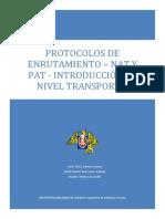 IV. Protocolos de Enrutamiento
