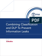 Combining Classification and DLP