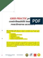 Contribuabili inactivi - Ghid