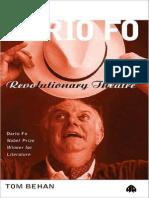 Tom Behan Dario Fo Revolutionary Theatre 2000