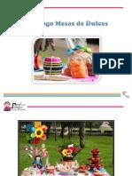 Catálogo Mesas de dulces