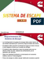 Sistema de Escape 2005