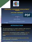 Effective Leadership Lec 4 - Situation Leadership