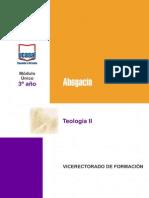 Teologia II 2015