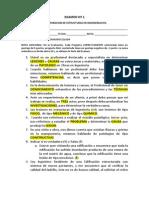 Patologias - Examen Nº 1