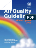 Air Quality Guidelines Global Update 2005