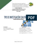 Investigacion - Accion Cualitativa 1 Trimestre