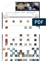 Sw- General Ability Tier Assessment - Tier List