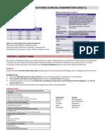 OSCE Guide, University of Queensland School of Medicine