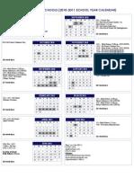 Boxford Public Schools (2010-2011 School Year Calendar)