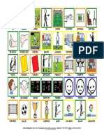 Tablero de Comunicacion Aumentativa con pictogramas de ARASAAC sobre la Liga BBVA 2015-16.