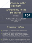Archaeology in the Philippines