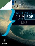 Sony Acid Pro v5.0 Power Manual