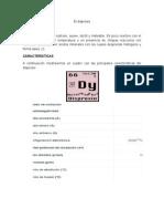 El Disprosio Informe LLUNCOR