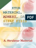 Struktur Material, Adhesi, Dan SIFAT FISIS