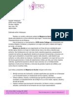 Propuesta al ICPR