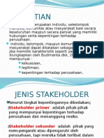 3. Teori Stakeholder