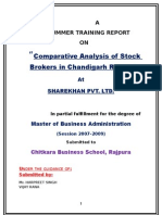 13351972 Comparative Analysis of Stock Brokers