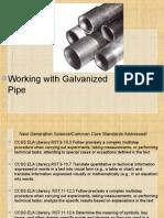 A3-16 Galvanized Pipe