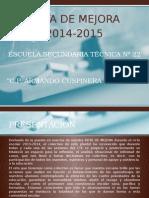 237814664-Ruta-de-Mejora-Final-2014-2015.pptx