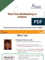 Real Time Multitasking Con Arduino