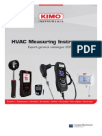 KIMO GAS ANALYSER METERS /MANOMETERS