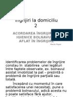 2. Ingrijiri La Domiciliu