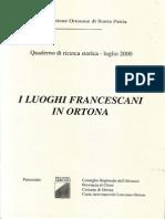 I Luoghi Francescani in Ortona