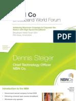 Access Evolution 221014 1400 Dennis Steiger NBN