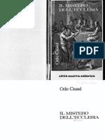 ODO CASEL - Il Mistero dell'Ecclesia