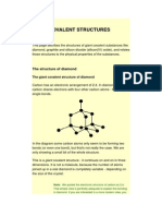 Giant Covalent Structures