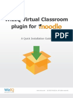Wiziq Moodle Plugin Installation Guide for Administrator
