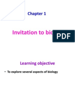 Chapter 1-Invitation to Biology