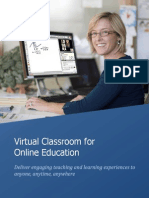 5 Virtual Classroom for Online Education