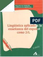 Linguistica aplicada a la enseñanza del español