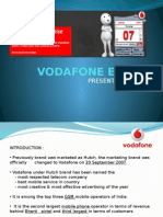 Presentation on Vodafone Essar